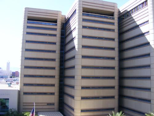 Clark Co Detention Center - Side View
